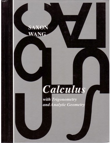 Saxon Calculus (1st edition) Text USED