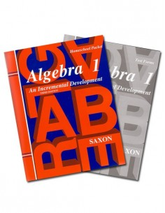 Saxon Algebra 1 (3rd Ed) Text Key/Test Packet