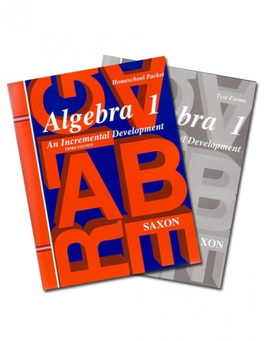 Saxon Algebra 1 (3rd Ed) Text Key/Test Packet