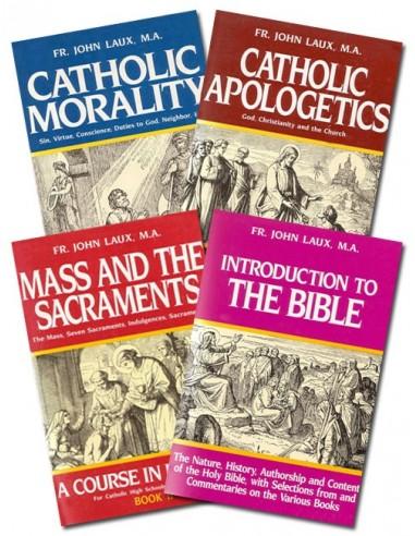 Fr. Laux's Set of Four Religion Books