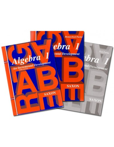 Saxon Algebra 1 (3rd edition) Home Study Kit