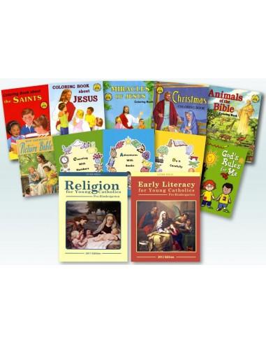 Complete Pre-K Workbook Set