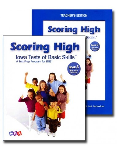 Scoring High IOWA Kit Gr. 3