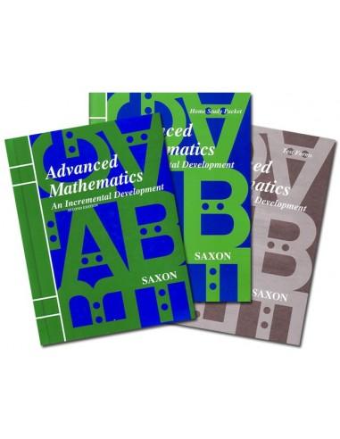 Saxon Advanced Math (2nd edition) Home Study Kit
