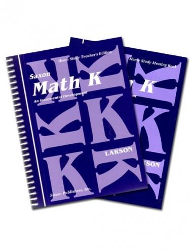 Saxon Math K Home Study Kit