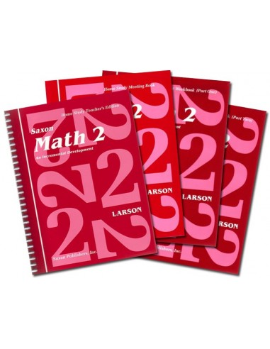 Saxon Math 2 Home Study Kit