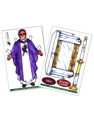 Priest's Vestments/Altar Set Combo