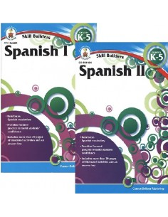 Skill Builders Spanish 1&2 Set (Grades K-5)