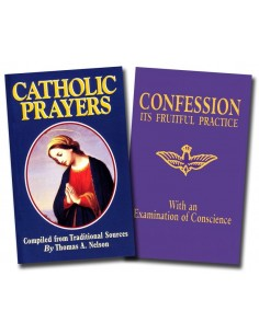 Catholic Prayers and Confession Set