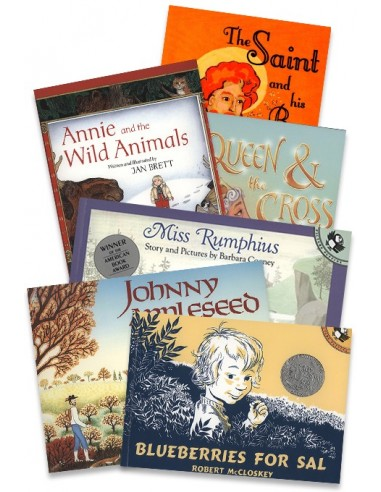 Pre-K Read-Aloud 6 Book Set