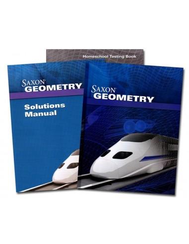Saxon Geometry Home Study Kit