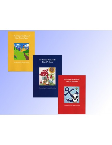 Set of Three Pre-Primer Workbooks