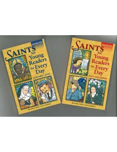 Saints for Young Readers for Every Day Book Set