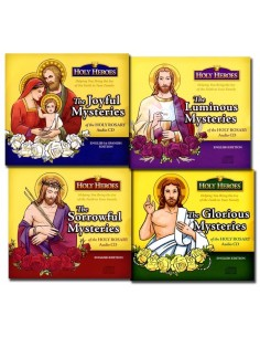 Holy Heroes CDs: The Mysteries of the Rosary