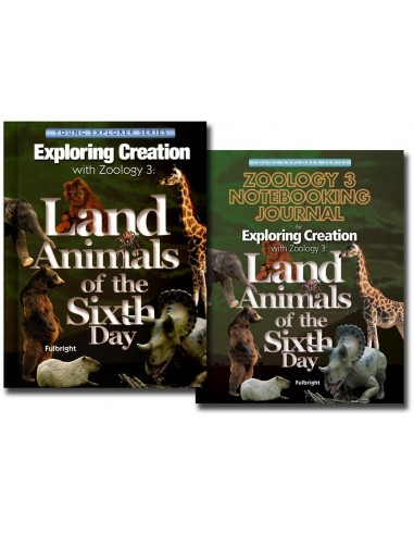Zoology 3 text with Notebooking Journal