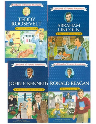 Childhood of Famous Americans: Presidents Set