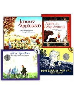 Pre-K Read-Aloud 4 Book Set