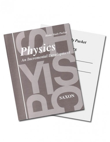 Saxon Physics (1st edition) Text Key/Tests w/Key