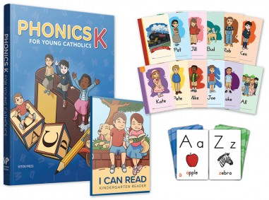 Phonics K for Young Catholics Book Set