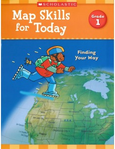 Map Skills for Today Grade 1- Cover