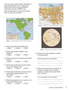 Maps, Charts, Graphs  Level E
