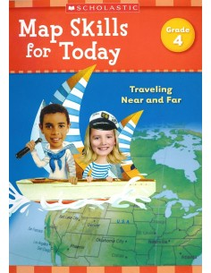 Map Skills for Today Grade 4- Cover