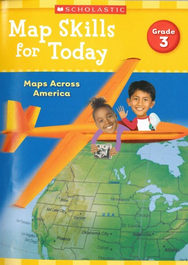 Map Skills for Today Grade 3- Cover