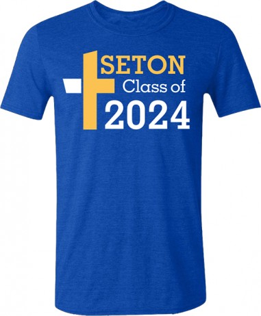 Seton Class of 2024 T-Shirt Adult Medium