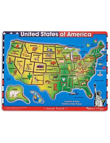 United States of America Sound Puzzle