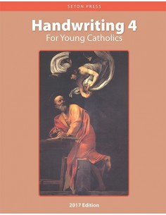 Handwriting 4 for Young Catholics