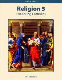 Religion 5 for Young Catholics (key in book)