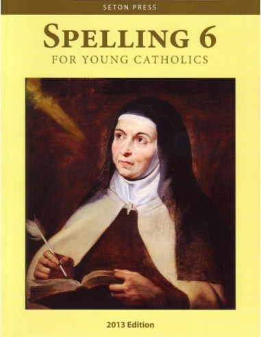 Spelling 6 for Young Catholics  (key in book)