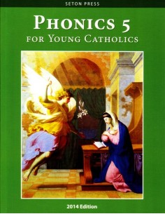 Phonics 5 for Young Catholics (key in book)