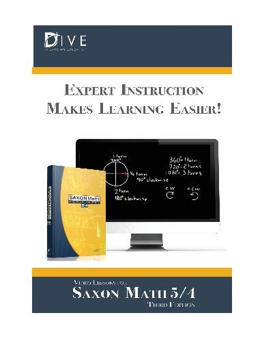 Math 54 3rd ed/Homeschool Dive Into...