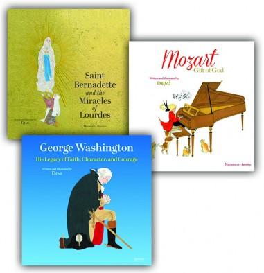 Children's Books by Demi: 3 Book Set