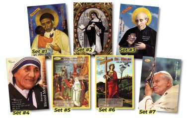 Holy Traders Saint Trading Cards -...