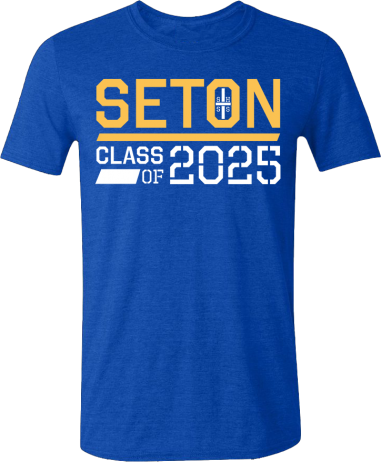 Seton Class of 2025 T-Shirt Adult...