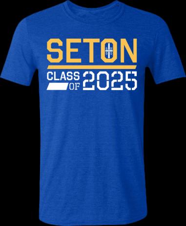 Seton Class of 2025 T-Shirt Adult Small