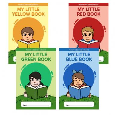 My Little Books (Phonics 1 - Set of 4)