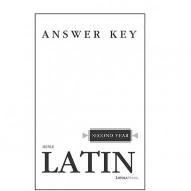 Latin 2 Text Answer Key