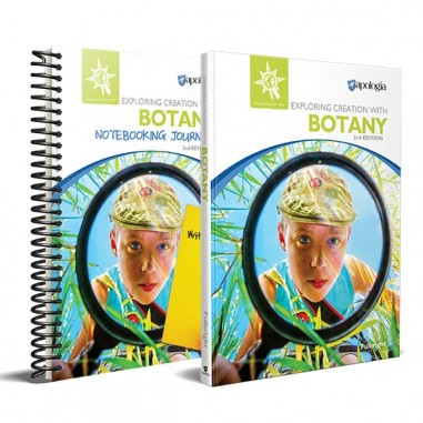 Botany text with Notebooking Journal