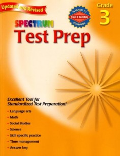 Spectrum Test Prep Grade 3 (for Standardized Tests)