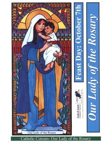 Our Lady of the Rosary Cutouts
