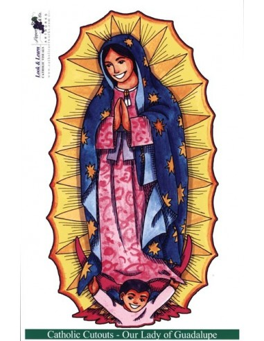 Our Lady of Guadalupe Cutouts