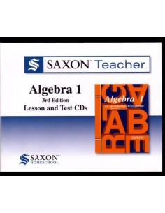 Saxon Teacher Algebra 1 3rd Edition