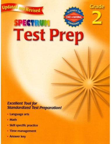 Spectrum Test Prep Grade 2 (for Standardized Tests)