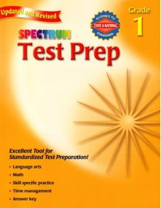 Spectrum Test Prep Grade 1 (for Standardized Tests)