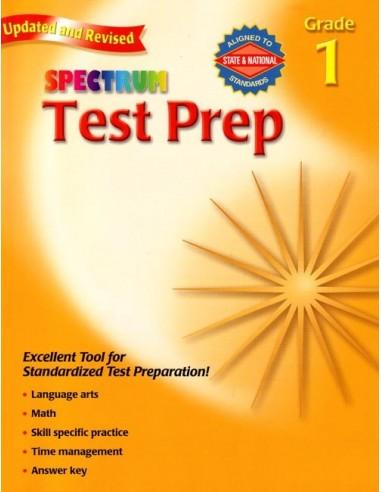 Spectrum Test Prep Grade 1 (for Standardized Tests)