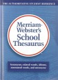 Merriam-Webster School Thesaurus (Grades 7-12)