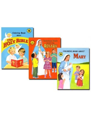 Kindergarten Coloring Book Set